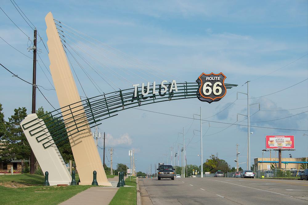 USA,Midwest,Oklahoma, Route 66 , Tulsa,