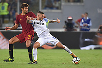 Federico Fazio Roma, Mauro Icardi Inter <br /> Roma 26-08-2017 Stadio Olimpico Calcio Serie A AS Roma - Inter Foto Andrea Staccioli / Insidefoto
