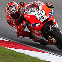 2011 MotoGP World Championship, Round 17, Sepang, Malaysia, 23 October 2011, Nicky Hayden