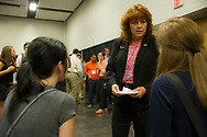 CASNR Freshman Welcome orientation. Dr. Cynda Clary and college wide professors came to interact with the new students.