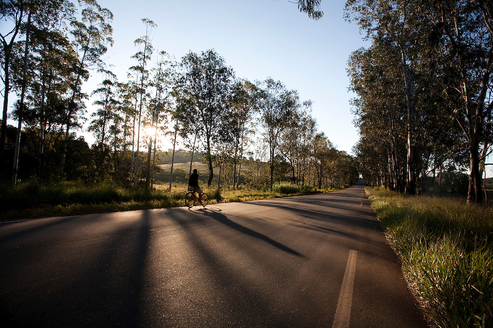 Campanha_MG, Brasil...Rodovia em Campanha...A highway in Campanha..Foto: LEO DRUMOND / NITRO.....