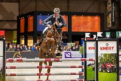 Lemmen Patrick, NED, Komme Casall<br /> KWPN hengstenkeuring - 's Hertogenbosch 2020<br /> © Hippo Foto - Dirk Caremans<br /> 30/01/2020