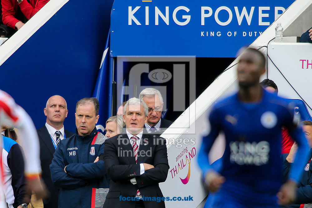 during the Premier League match at the King Power Stadium, Leicester<br /> Picture by Andy Kearns/Focus Images Ltd 0781 864 4264<br /> 01/04/2017