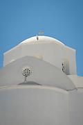 A Greek Orthodox church in Plaka, on Milos Island, Greece.