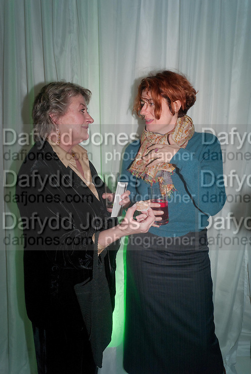 SORCHA CUSACK; ANNA CHANCELLOR;  , English National Ballet Beyond Ballets Russes at the London Coliseum opening night party at the St Martins Lane Hote, Londonl . 22 March 2012.