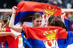 20-10-2018 JPN: Final World Championship Volleyball Women day 21, Yokohama<br /> Serbia - Italy 3-2 / Maja Aleksic #14 of Serbia