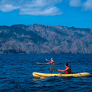 Sea kayaking in Loreto.<br />
