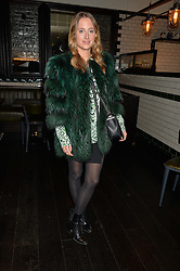 ROSIE FORTESCUE at a party to celebrate the publication of Honestly Healthy Cleanse by Natasha Corrett held at Tredwell's Restaurant, 4a Upper St.Martin's Lane, London on 14th January 2015.