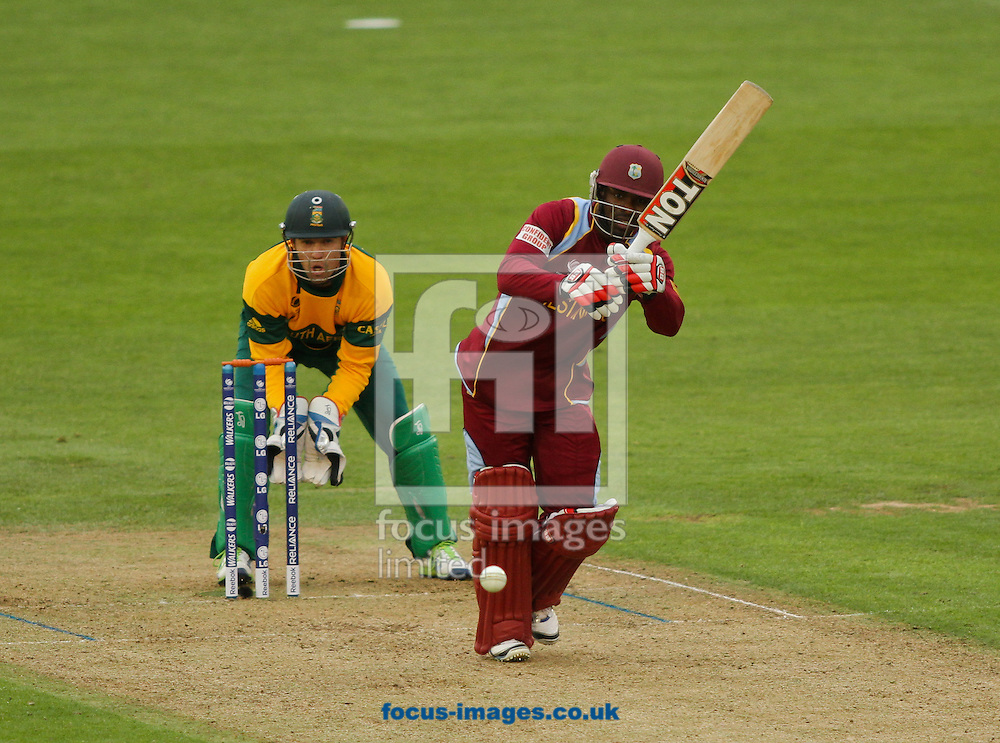 Picture by Tom Smith/Focus Images Ltd 07545141164<br /> 14/06/2013<br /> Devon Smith of West Indies batting during the ICC Champions Trophy match at the SWALEC Stadium, Cardiff.