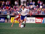 13.05.1993, Urheilupuisto, Turku, Finland..FIFA World Cup 1994 Qualifying match, Finland v Austria..Jari Litmanen (Finland) leaves behind Andreas Herzog (Austria). .©JUHA TAMMINEN