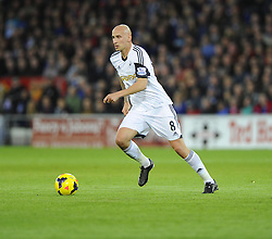 Swansea City's Jonjo Shelvey - Photo mandatory by-line: Joe Meredith/JMP - Tel: Mobile: 07966 386802 03/11/2013 - SPORT - FOOTBALL - The Cardiff City Stadium - Cardiff - Cardiff City v Swansea City - Barclays Premier League