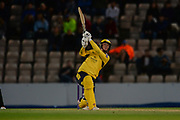 Tom Alsop of Hampshire batting during the NatWest T20 Blast South Group match between Hampshire County Cricket Club and Somerset County Cricket Club at the Ageas Bowl, Southampton, United Kingdom on 18 August 2017. Photo by Dave Vokes.