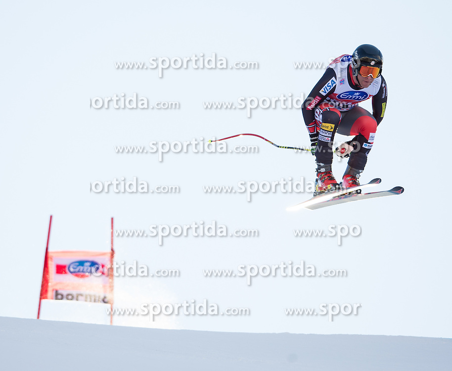 28.12.2013, Stelvio, Bormio, ITA, FIS Ski Weltcup, Bormio, Abfahrt, Herren, 2. Traininglauf, im Bild Marco Sullivan (USA) // Marco Sullivan of the USA in action during mens 2nd downhill practice of the Bormio FIS Ski Alpine World Cup at the Stelvio Course in Bormio, Italy on 2012/12/28. EXPA Pictures © 2013, PhotoCredit: EXPA/ Johann Groder