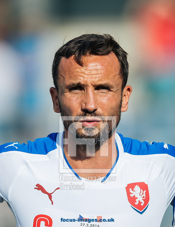 Tomas Sivok of Czech Republic during the International Friendly match at Grenzlandstadion, Kufstein<br /> Picture by EXPA Pictures/Focus Images Ltd 07814482222<br /> 27/05/2016<br /> ***UK &amp; IRELAND ONLY***<br /> EXPA-FEI-160528-3009.jpg