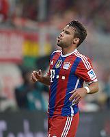 Fussball  1. Bundesliga  Saison 2014/2015   1. SPIELTAG FC Bayern Muenchen - VfL Wolfsburg       22.08.2014 Juan Bernat (FC Bayern Muenchen)