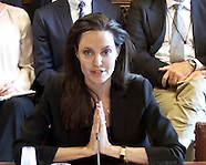 Angelina Jolie Wells-Up At Sexual Violence Hearing