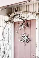 Unusual door and it's dove.