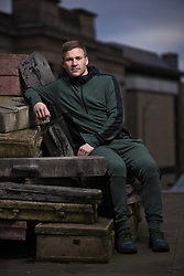 LIVERPOOL, ENGLAND - Monday, December 31, 2018: Tranmere Rovers' player Jay Harris poses for a portrait on Hope Street in Liverpool ahead of the FA Cup 3rd Round match against Tottenham Hotspur. (Pic by David Rawcliffe/Propaganda)