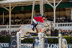 Verlooy Jos, BEL, Caracas<br /> Longines FEI Jumping Nations Cup™ Final<br /> Barcelona 20128<br /> © Hippo Foto - Dirk Caremans<br /> 07/10/2018