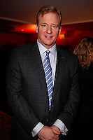 Roger Goodell NFL commissioner attends The City of Hope Man of the Year Award at which Tim Leiweke was honored as man of the year at The Nokia Theater Times Square on May 28, 2009... ..Photo credit; Rahav Segev / Photopass