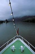 DEU, Germany, Rhineland-Palatinate, ship on the river Moselle near Traben-Trabach.....DEU, Deutschland, Rheinland-Pfalz, Schiff auf der Mosel bei Traben-Trabach...