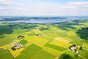 Nederland, Overijssel, Gemeente Kampen, 27-08-2013;  Kampereiland, eiland in de monding van de IJssel, ten noorden van Kampen. Onderdeel van het Nationaal Landschap IJsseldelta. Zwarte Meer en Noordoospolder in de achtergrond.<br /> Kampereiland island in the mouth of the river IJssel, north of Kampen. Part of the National Landscape IJsseldelta.<br /> luchtfoto (toeslag op standaard tarieven);<br /> aerial photo (additional fee required);<br /> copyright foto/photo Siebe Swart.
