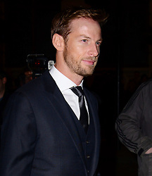 Jenson Button attends a VIP private view of David Bailey: Bailey's Stardust, a major exhibition showcasing the work of acclaimed fashion photographer David Bailey, providing a retrospective of his career during which he has photographed stars including The Beatles, Andy Warhol and Jack Nicholson. Sponsored by Hugo Boss, at National Portrait Gallery, St Martin's Place,  London, United Kingdom. Monday, 3rd February 2014. Picture by Nils Jorgensen / i-Images