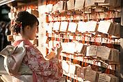Sabrina exploring Tokyo.