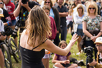In August the annual cheese rolling contest brings athletic contestants to Whistler, BC, Canada. The first to catch the rolling cheese as it heads down Blackcomb Mountain wins a seasons' ski pass. A dance contest fills in between races.