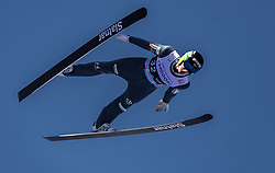 10.03.2019, Holmenkollen, Oslo, NOR, FIS Weltcup Skisprung, Raw Air, Oslo, Einzelbewerb, Herren, im Bild Domen Prevc (SLO) // Domen Prevc of Slovenia during the men's individual competition of the Raw Air Series of FIS Ski Jumping World Cup at the Holmenkollen in Oslo, Norway on 2019/03/10. EXPA Pictures © 2019, PhotoCredit: EXPA/ JFK