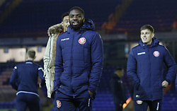 Stevenage players arrive at Peterborough United - Mandatory by-line: Joe Dent/JMP - 19/11/2019 - FOOTBALL - Weston Homes Stadium - Peterborough, England - Peterborough United v Stevenage - Emirates FA Cup first round replay