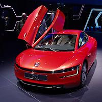 VW XL1 hybrid at the IAA 2013, Frankfurt, Germany