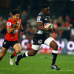 DURBAN, SOUTH AFRICA - JULY 15:  during the Super Rugby match between the Cell C Sharks and Sunwolves at Growthpoint Kings Park on July 15, 2016 in Durban, South Africa. (Photo by Steve Haag/Gallo Images)