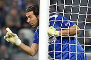 © Filippo Alfero<br /> Juventus-Real Madrid, Champions League 2013-2014<br /> Torino, 05/11/2013<br /> sport calcio<br /> Nella foto: Gianluigi Buffon