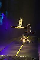 Karlsruhe. 04.09.15 Circus Flic Flac. 25 Jahre Programm &quot;H&ouml;chststrafe&quot;.<br /> Am 4. November 2015 kommt Flic Flac nach Mannheim. Preview zum aktuellen Programm.<br /> - Air Track<br /> Bild: Markus Pro&szlig;witz 04SEP15 / masterpress (Bild ist honorarpflichtig)