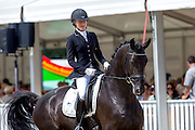 Stella Hagelstam - New Hill Rosselini<br /> FEI World Breeding Dressage Championships for Young Horses 2012<br /> © DigiShots