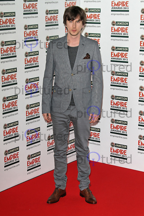 LONDON - MARCH 25: Lee Ingleby attends the Jameson Empire Film Awards at the Grosvenor House Hotel, London, UK. March 25, 2012. (Photo by Richard Goldschmidt)
