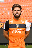 Jimmy Cabot during photoshooting of FC Lorient for new season 2017/2018 on September 12, 2017 in Lorient, France. (Photo by Philippe Le Brech/Icon Sport)