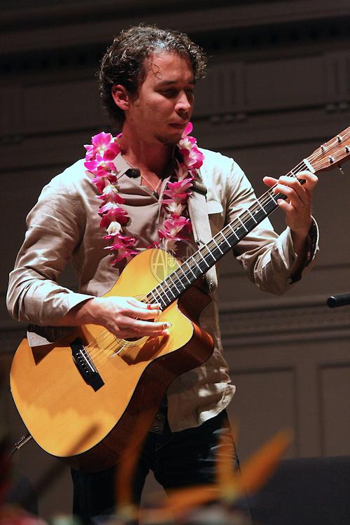 1st Annual Seattle Slack Key Festival at Town Hall on November 22, 2009