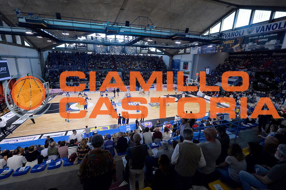 panoramica<br /> Vanoli Cremona - Germani Basket Brescia Leonessa<br /> Lega Basket Serie A 2016/2017<br /> Cremona, 09/04/2017<br /> Foto M.Ceretti / Ciamillo - Castoria