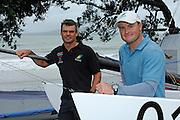 Winners of the 2008 World Tornado Championships, Australian team of Darren Bundock and Glenn Ashby (AUS8) . Takapuna Auckland New Zealand. 1/32008