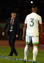 June 6, 2017 - Blida, Algiers, Algeria - Lucas Alcaraz  coach of the Algerian team during Friendly Match Algeria vs Guinea at the Mustapha Tchaker Stadium in Blida, Algeria, on 6 June 2017. (Credit Image: © Billal Bensalem/NurPhoto via ZUMA Press)