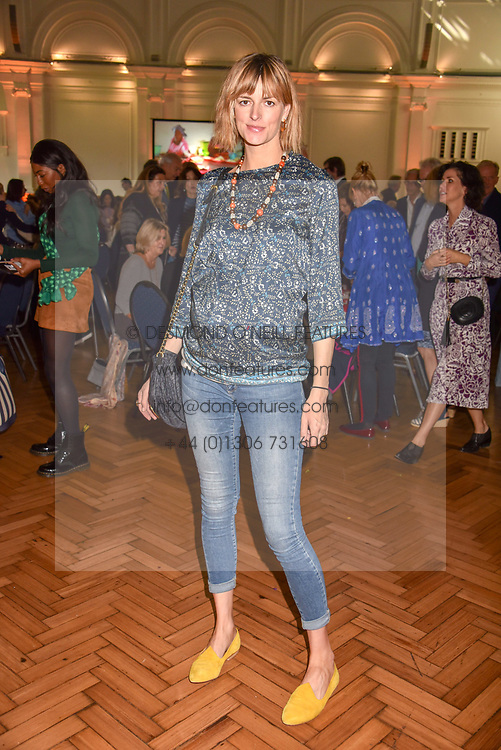Jacquetta Wheeler at the ASAP VIP lunch (African Solutions To African Problems) held at the RHS Lindley Hall, 80 Vincent Square, London, England. 10 October 2018.