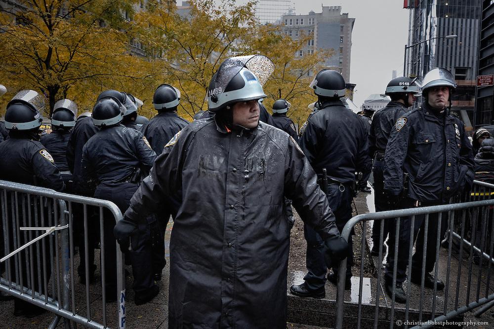Zucotti Park NY, November 18, 2011
