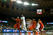 WACO, TX - JANUARY 3: The Baylor Bears drives to the basket against the Savannah State Tigers on January 3, 2014 at the Ferrell Center in Waco, Texas.  (Photo by Cooper Neill) *** Local Caption ***