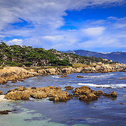 Carmel By The Sea Coastline.