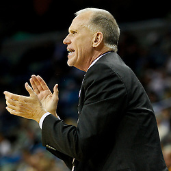 January 3, 2011; New Orleans, LA, USA; Philadelphia 76ers head coach Doug Collins against the New Orleans Hornets during the fourth quarter at the New Orleans Arena. The Hornets defeated the 76ers 84-77.  Mandatory Credit: Derick E. Hingle