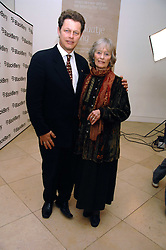 VIRGINIA MCKENNA and her son WILL TRAVERS at a private view of Bryan Adam's photographs entitled 'Modern Muses' held at The National Portrait Gallery, London on 11th March 2008.<br />