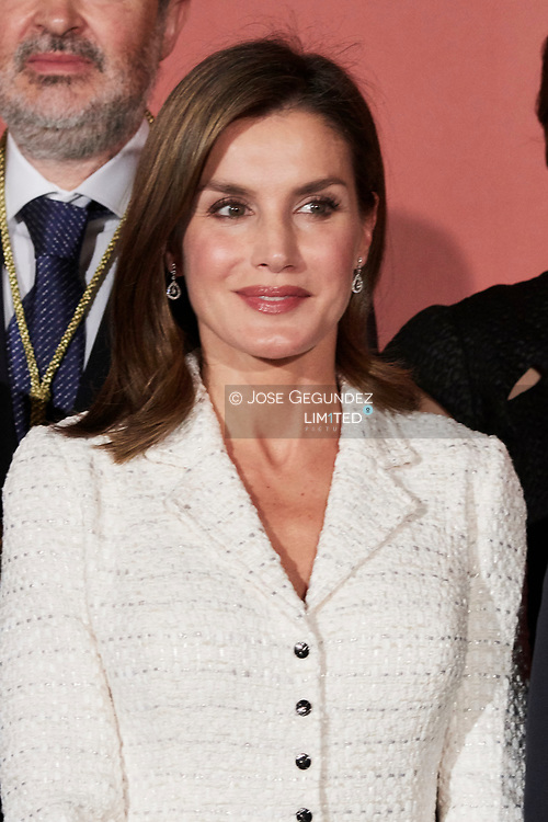 Queen Letizia of Spain attended the Delivery of the 29th edition of the 'Premios Rey Jaime I' at Lonja de los Mercaderes on October 30, 2017 in Valencia, Spain