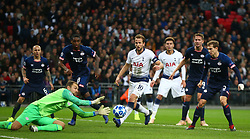 November 6, 2018 - London, England, United Kingdom - London, England - November 06, 2018.Jeroen Zoet of PSV Eindhoven.during Champion League Group B between Tottenham Hotspur and PSV Eindhoven at Wembley stadium , London, England on 06 Nov 2018. (Credit Image: © Action Foto Sport/NurPhoto via ZUMA Press)